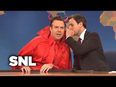 Weekend Update: The Devil On Penn State at Saturday Night Live