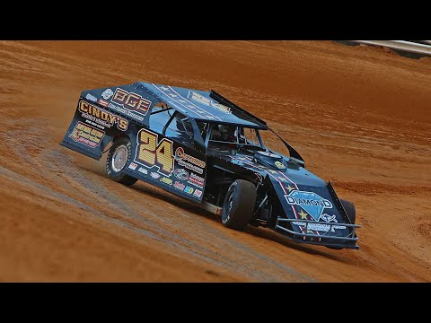 Dirt Modified 602 Crate Lake View Motor Speedway 8-28-21 - dirt track racing video image
