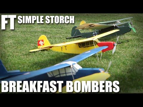 Flite Test - FT Simple Storch Breakfast Bombers - UC9zTuyWffK9ckEz1216noAw
