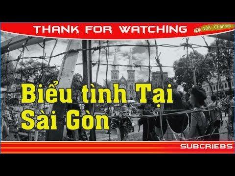 Biểu tình Tại Sài Gòn 17/6: Lộ rõ bộ mặt b ọn phản động bán nước hại dân