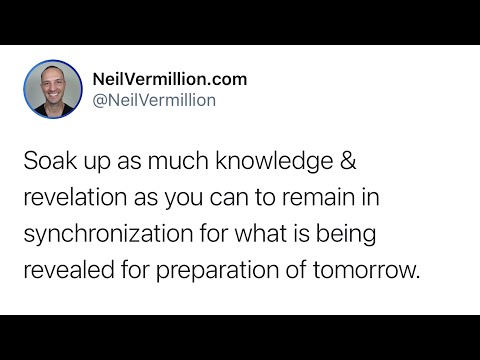 Preparation For The Seasons Of Tomorrow - Daily Prophetic Word