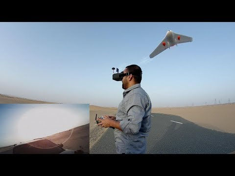 Atlas 450 Micro FPV Racing Flying Wing FPV Flight - UCsFctXdFnbeoKpLefdEloEQ