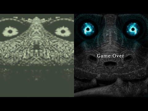 Shadow of the Colossus - COMPARAÇÃO DAS TELAS DE GAME OVER (Game Over Screens Comparison) - default