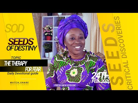 Dr Becky Paul-Enenche - SEEDS OF DESTINY - MONDAY 24TH FEBRUARY, 2020