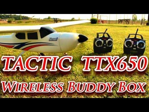 Tactic TTX650 Wireless Buddy Box Trainer Sensei RC Plane - TheRcSaylors - UCYWhRC3xtD_acDIZdr53huA