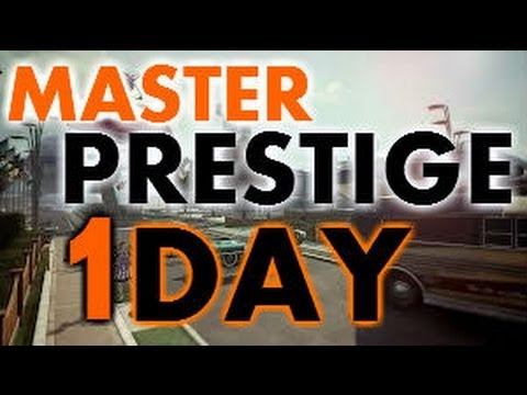 How to RANK UP FAST In Black Ops 2 - Get PRESTIGE MASTER in