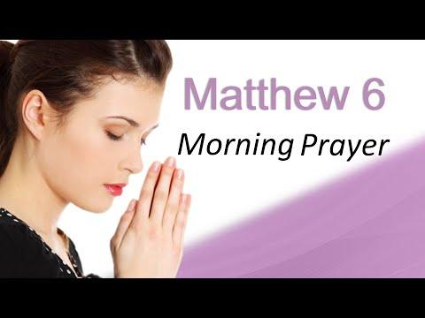 DON'T BE AFRAID, GOD WILL PROVIDE - MATTHEW 6 - MORNING PRAYER (video)