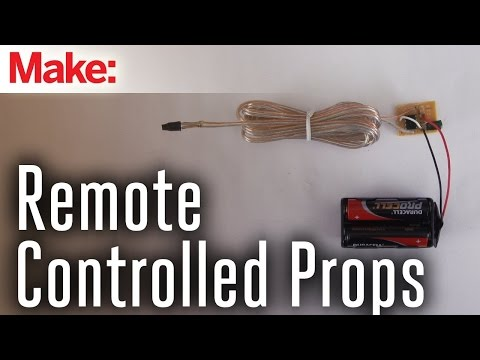 Controlling Halloween Effects with DIY Infrared Remote Controls - UChtY6O8Ahw2cz05PS2GhUbg