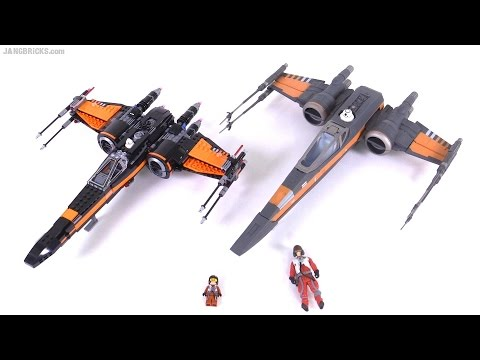 LEGO vs. Hasbro! Star Wars Force Awakens X-Wing comparison - UCH09uL3dLqsVsOh0XmapzLQ