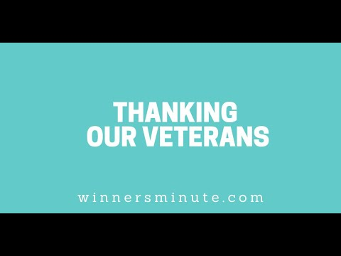 Thanking Our Veterans // The Winner's Minute With Mac Hammond