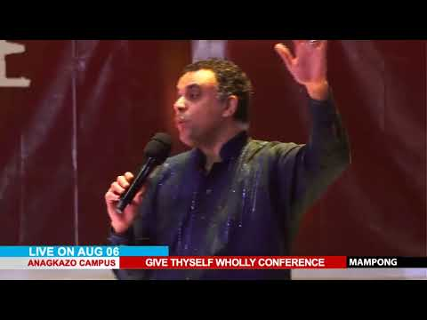 WATCH THE GIVE THYSELF WHOLLY CONFERENCE, LIVE FROM THE ANAGKAZO CAMPUS, MAMPONG - GHANA.