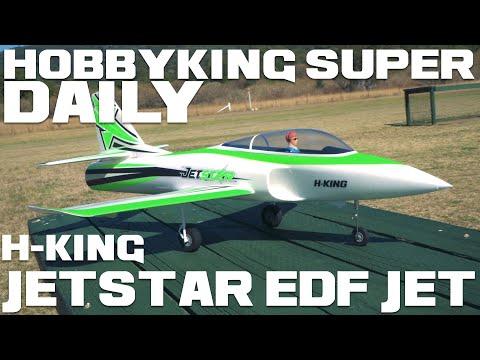 H-King Jetstar 64mm 11-Blade EDF Jet 800mm PnF - HobbyKing Super Daily - UCkNMDHVq-_6aJEh2uRBbRmw