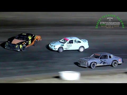 Desert Thunder Raceway Sport Mini Bomber Main Event 9/25/21 - dirt track racing video image