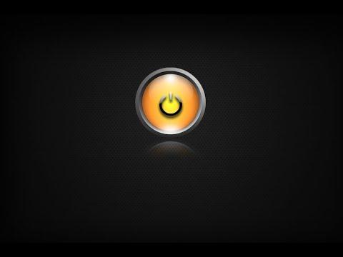 Photoshop Power Button yapımı [ Gradient overlay ]