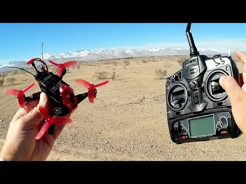 Walkera Rodeo 110 Mini FPV Racing Drone Flight Test Review - UC90A4JdsSoFm1Okfu0DHTuQ