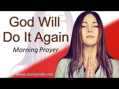 1 SAMUEL 17 - GOD WILL DO IT AGAIN  - MORNING PRAYER (video)