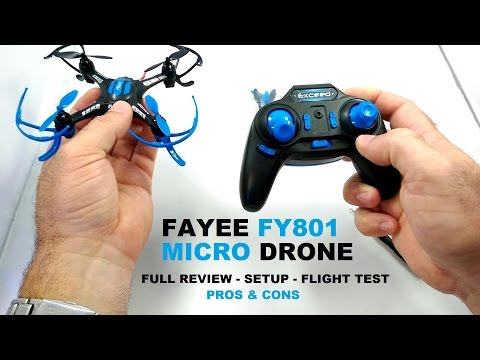 FAYEE FY801 Micro Inverted Flying QuadCopter Drone Review - [Setup, Flight Test, Pros & Cons] - UCVQWy-DTLpRqnuA17WZkjRQ