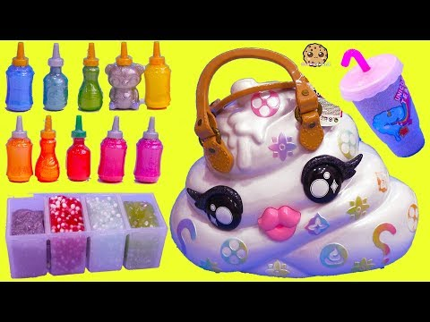 Giant Surprise Pooey Puitton Craft Bag Kit ! DIY Make Glitter + Crunchy Slime - UCelMeixAOTs2OQAAi9wU8-g