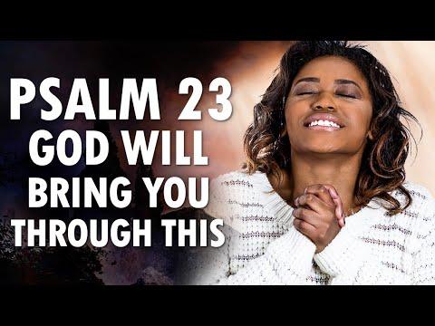 God Will BRING You THROUGH This - PSALM 23 - Morning Prayer