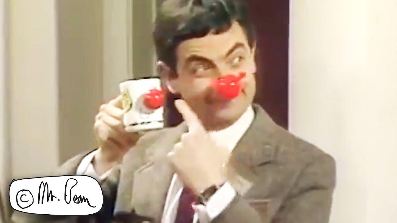 On A SPONSORED Silence! | Mr Bean: Comic Relief | Mr Bean