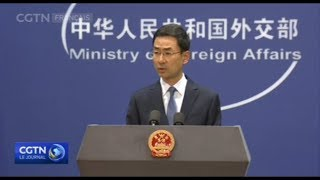 Beijing met en garde le Canada contre toute forme d'ingérence dans ses affaires intérieures