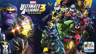 Marvel Ultimate Alliance 3 - The Cosmic Tyrant, Thanos wants the Infinity Stones (Switch Gameplay)