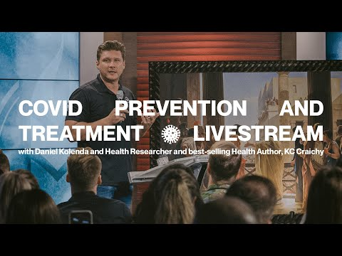 Covid Prevention & Treatment Livestream  Feat. Daniel Kolenda & KC Craichy