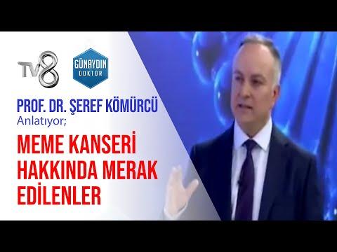 Prof. Dr. Şeref Kömürcü – Meme Kanseri Hakkında Merak Edilenler   TV8 – Günaydın Doktor