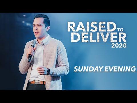 Raised To Deliver 2020  Sunday Night  David Diga Hernandez