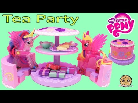 My Little Pony Princess Cadance & Celestia Have Cake Tea Party with Cupcakes Playset - UCelMeixAOTs2OQAAi9wU8-g