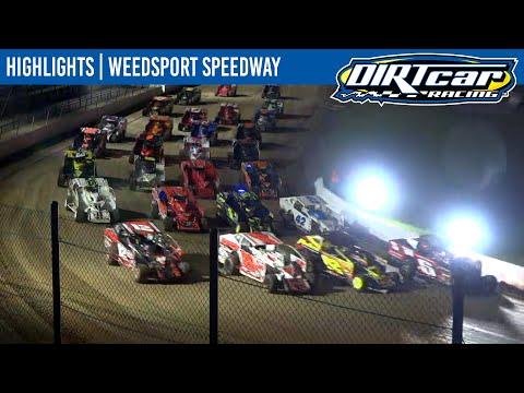 DIRTcar 358 Modifieds Weedsport Speedway October 6, 2021   HIGHLIGHTS - dirt track racing video image