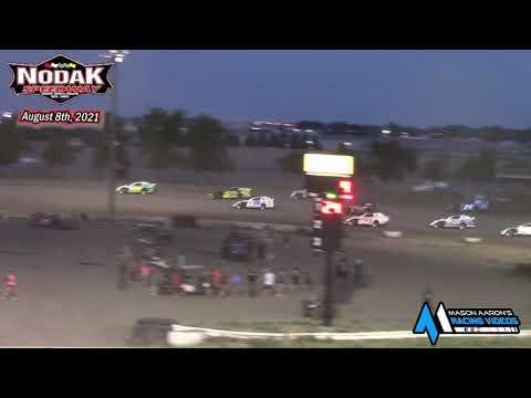 Nodak Speedway IMCA Sport Mod A-Main (8/8/21) - dirt track racing video image