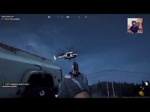FAR CRY 5 TAKING OUT A HELICOPTER WITH A PISTOL! - UC7HyvAyzpbtlw8nZ8a4oN1g