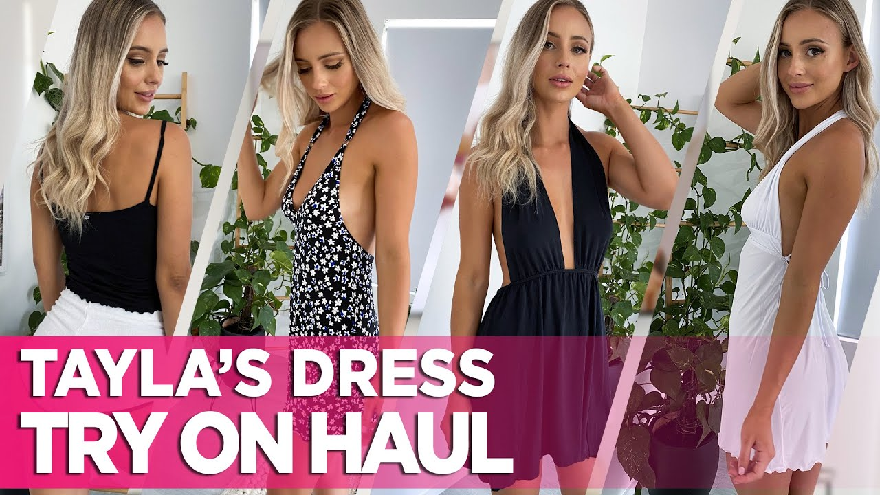 Sexy & Stylish: Wicked Weasel Dress Try On Haul With Tayla