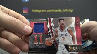 Rody's 2018/19 Panini Select NBA Basketball 2 Box Break