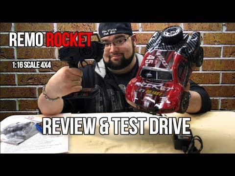 Remo Rocket 1:16th Scale 4x4 Review & Test Drive (Courtesy Cheerwing) - UCU33TAvzA-wgPMgcrdMVIdg
