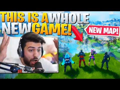 Fortnite Is Now A NEW Game! First Win + Battlepass Reaction! (Fortnite Chapter 2 Gameplay) - UC_q5WZtFp36adwqhKpZzxwQ