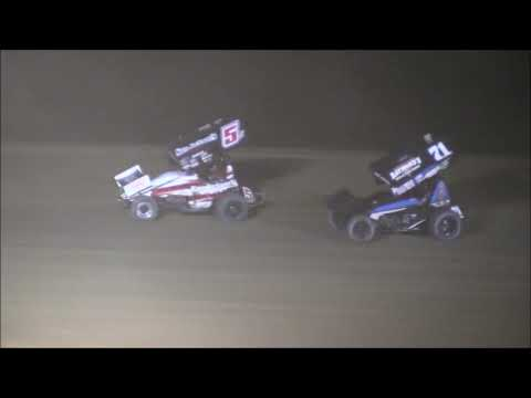 Sprint Car Feature from Atomic Speedway, September 15th, 2018. - dirt track racing video image