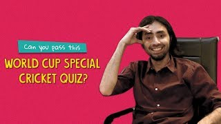 Can You Pass This World Cup Special Cricket Test? | Ft. Josh & Pavitra | Ok Tested