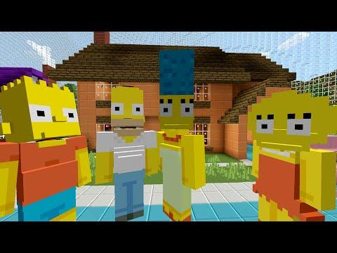 Minecraft The Simpsons Skin Pack Trailer   ImpressPages.lt