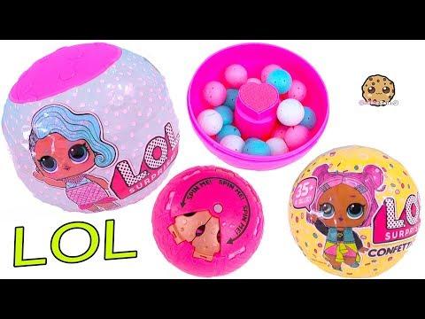 LOL Surprise Confetti POP Blind Bag Dolls + Ball Game - UCelMeixAOTs2OQAAi9wU8-g