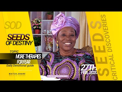 Dr Becky Paul-Enenche - SEEDS OF DESTINY - THURSDAY 27TH FEBRUARY, 2020