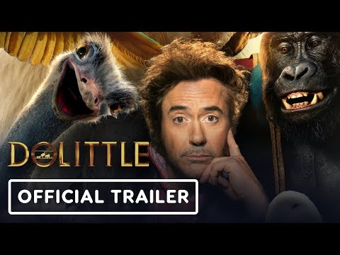 Dolittle - Official Trailer (2020) Robert Downey Jr., Tom Holland, Rami Malek - UCKy1dAqELo0zrOtPkf0eTMw