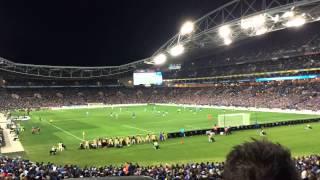 Chelsea fc vs Sydney fc in Sydney Timelapse!