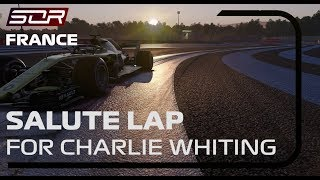 Season 8 French Grand Prix | Salute Laps in the honor of Charlie Whiting