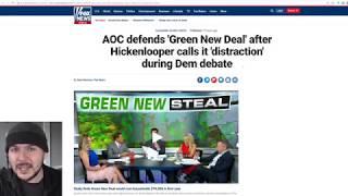 Democrats FINALLY Called Out Ocasio-Cortez's Green New Deal As Socialistic Nonsense