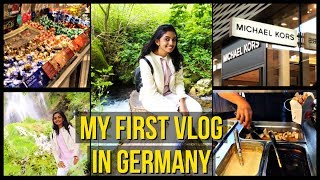 Exploring Biggest Shopping Destination | Bad Urach Waterfalls | Germany Vlog in Tamil