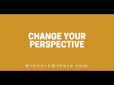 Change Your Perspective // The Winner's Minute With Mac Hammond