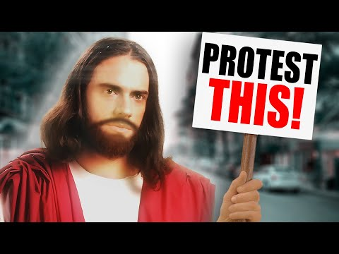 Jesus Came to Me & Said We Must Protest THIS!
