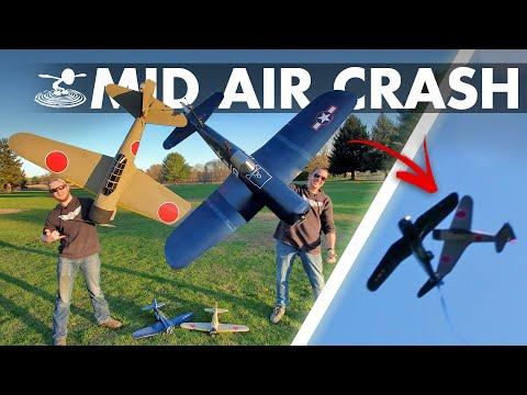 We Crashed our Precious Warbirds! 😱 Corsair VS Zero! 🔥 - UC9zTuyWffK9ckEz1216noAw